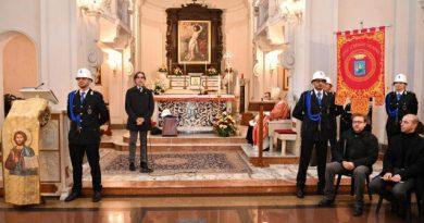 Messa di San Sebastiano, patrono del corpo di Polizia Municipale