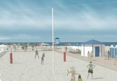 All'idrovora una spiaggia per lo sport aperta tutto l'anno