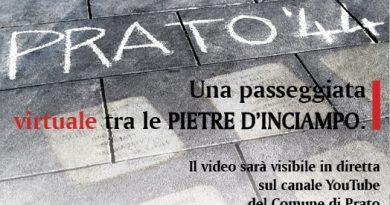 """Memoria, presentato il video """"Prato '44. Una passeggiata virtuale tra le Pietre d'inciampo"""""""