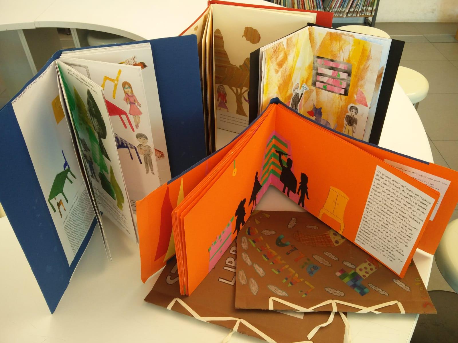 Mostra laboratori - libri sezione ragazzi