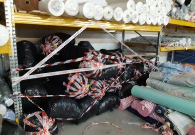 Smaltimento illecito scarti tessili, denunciate tre persone